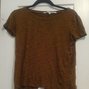 Rachel Roy Orange/Brown T Shirt